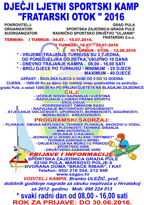 djecji-ljetni-sportski-kamp-fratarski-otok-2016
